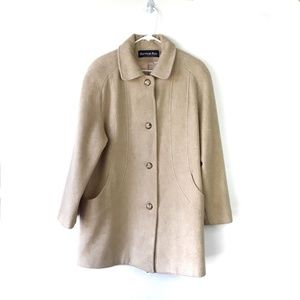 Vintage 70s Herman Kay Wool Pea Coat